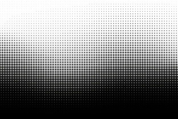 Download Black Wave Halftone Background For Free Vector