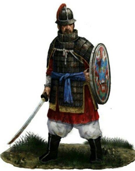 조선 초기 팽배수-the early of joseon      shield soldier