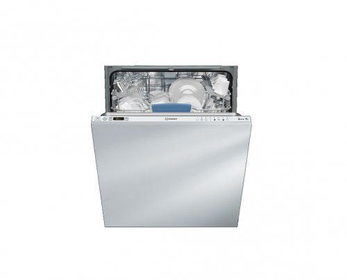 (510) 350eur Indesit DIFP 28T9 A. Model: Plne integrované, Farba: nerezová oceľ, Systém ovládania: tlačidlá. Úroveň hluku: 42 dBA, Trieda účinnosti sušenia: A, Maximálna teplota: 70 °C. Trieda energetickej účinnosti: A++, Spotreba energie na cyklus: 0,93 kWh, Spotreba vody na cyklus: 9L