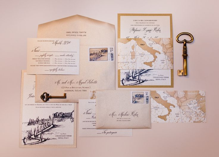 16 best ITALY WEDDING INVITATIONS images on Pinterest Italy