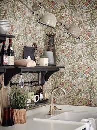 Best Images Ideas About Kitchen Wallpaper Red Designs For Walls Modern