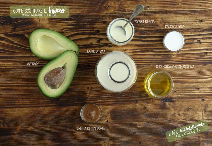 ingredienti che sostituiscono il #burro