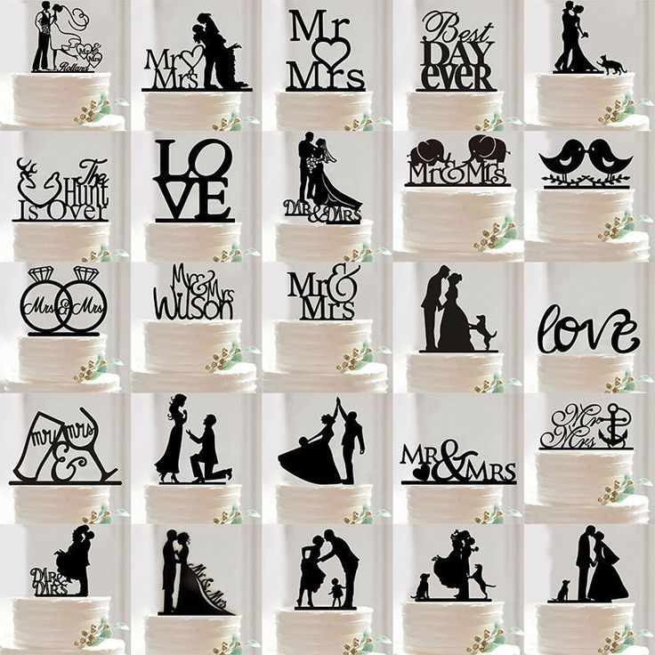 Romantic Acrylic Bride and Groom Wedding Love Cake Topper Party Favors Decor in Home & Garden, Wedding Supplies, Wedding Cake Toppers   eBay