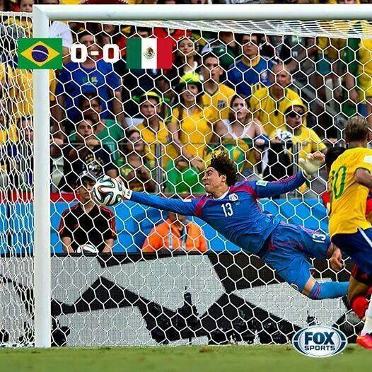 Memo Ochoa . Mexico . What a save . Fifa World Cup
