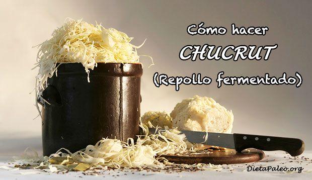 Receta tradicional y Paleo para elaborar Chucrut. sauerkraut o col agria en la comodidad de tu hogar. Super facil con tan solo 3 ingredientes.