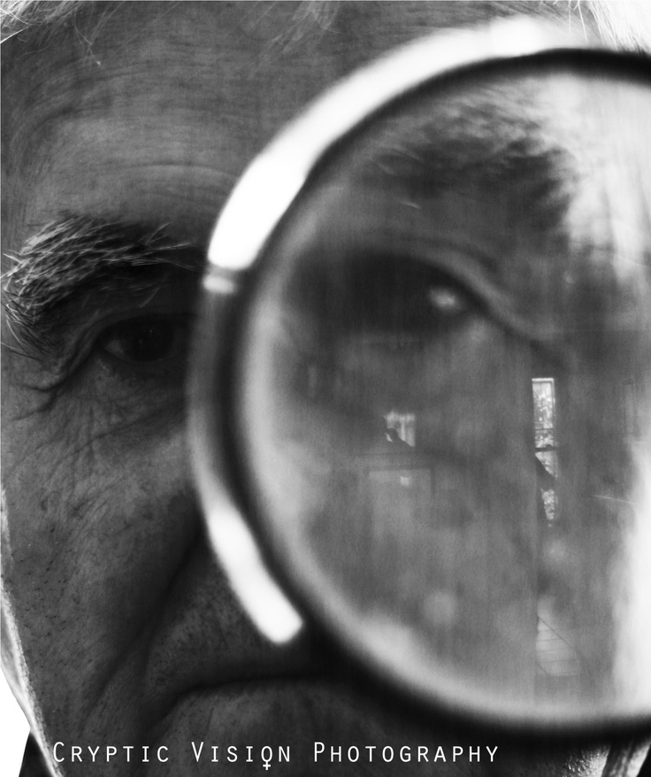 # Magnifying glass. By www.crypticvisionphotography.com