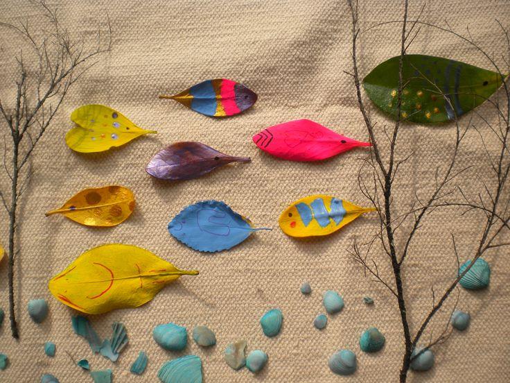 Create an under the sea landscape