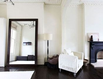 17 best images about brown frames for mirrors on pinterest for Floor mirror in living room