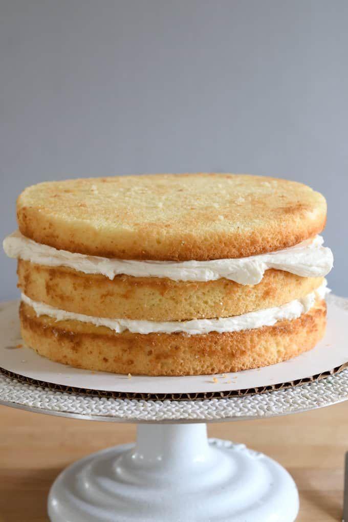 Vanilla Buttermilk Cake Recipe In 2020 Vanilla Buttermilk Cake Easy Cake Recipes Moist Vanilla Cupcakes