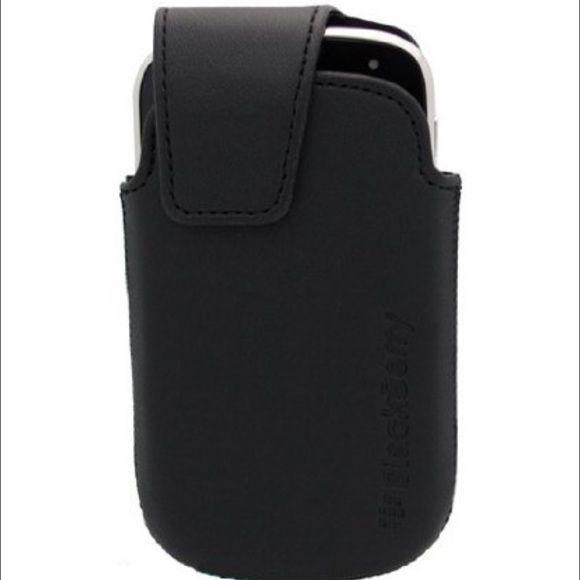 Blackberry 9900/9930 black holster case New black blackberry holster case.  Blackberry 9900/9930. Blackberry Accessories