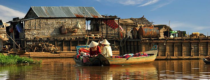 Tonlé Sap Lake in Siem Reap - Cambodia Attractions