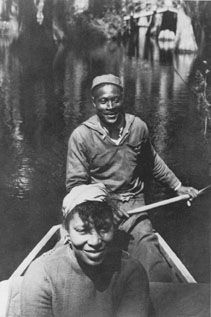 Zora Neale Hurston in the Florida Swamps