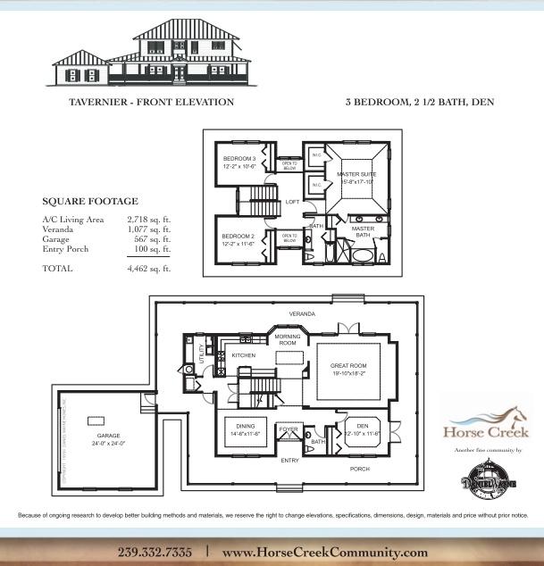 Daniel wayne homes tavernier model popular floor plans for Wayne homes floor plans