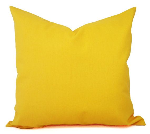 two solid yellow couch pillow covers set of two yellow throw pillow covers in a