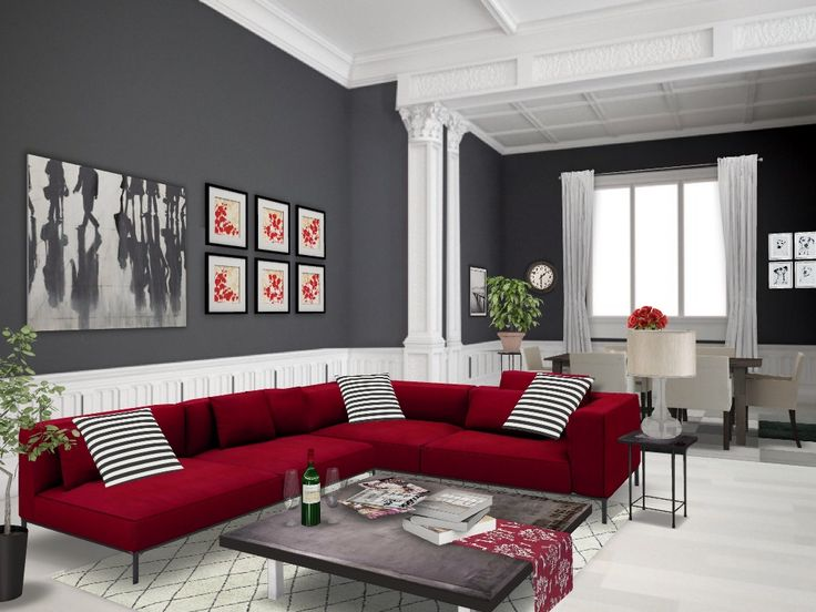 Best Red Autodesk Homestyler Simplifiinteriors Grey Red 400 x 300