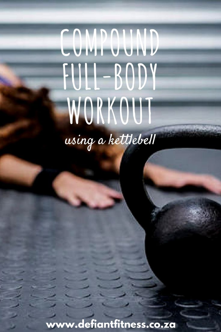 Kettlebell workout | Compound workouts | Cardio workout | Full-body workout