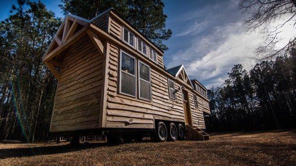 39ft Rustic Gooseneck Tiny House On Wheels Tiny Mobile House Tiny House On Wheels Tiny House