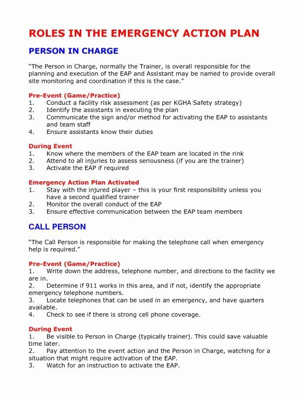 Incident Action Plan Template Luxury Emergency Action Plan Template Action Plan Template How To Plan Action Plan