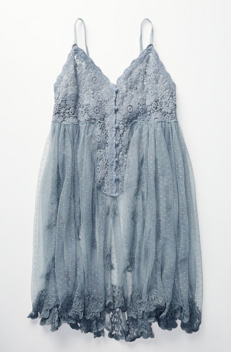 Say Hello To Heaven Slip   Free People i'd wear a undershirt with it!