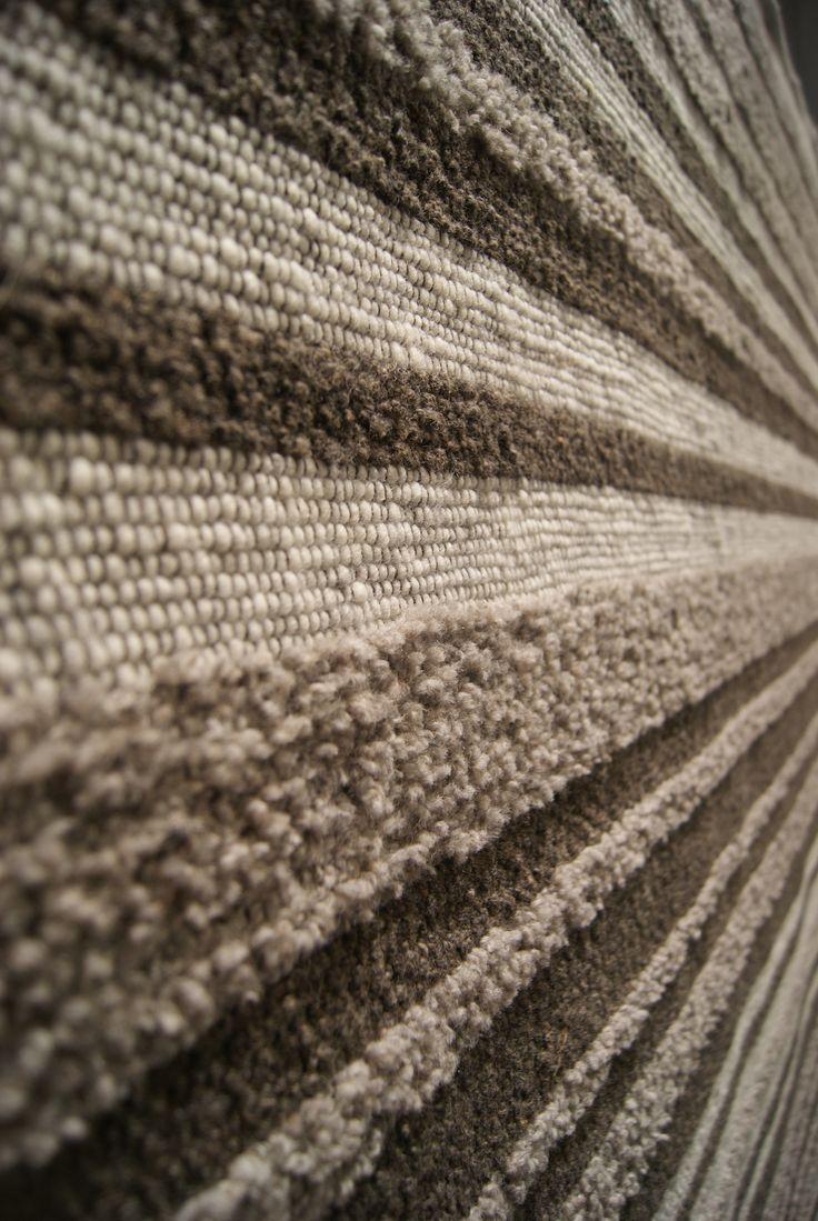 Lab Mix 203-1 #wol #textures #mix #stripes #rug #vloerkleed #nature
