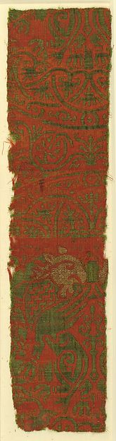 Textile with Brocade | Spanish | The Met