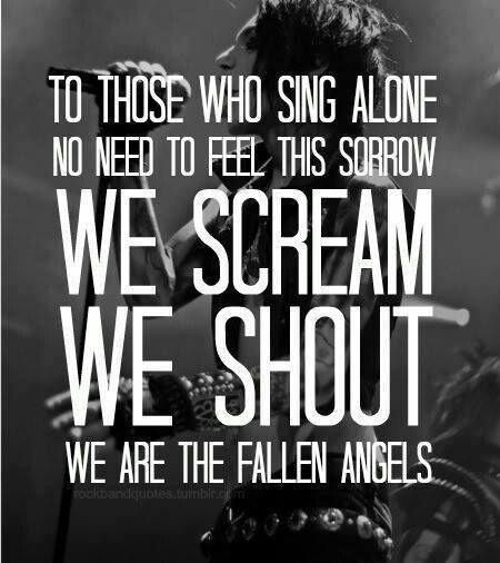 Bvb Fallen Angels Quotes. QuotesGram
