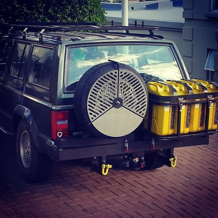 Spare Wheel Jerry Can Swing Out Carrier Wheel Carrier Jeep Xj