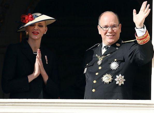 prinses charlena en prins albert Monaco 19-11-2016