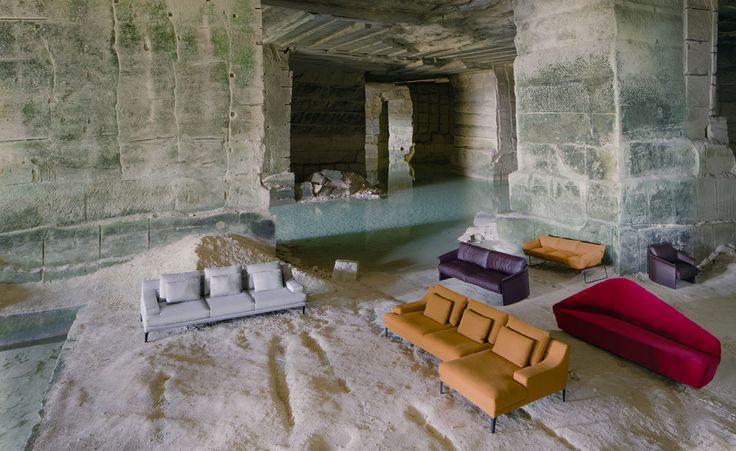 DRIADE Megara sofa & Elisa sofa & Verlaine sofa & Garconne sofa & armchair