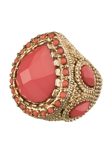Tear Drop Gem Stretch Ring available at #Maurices
