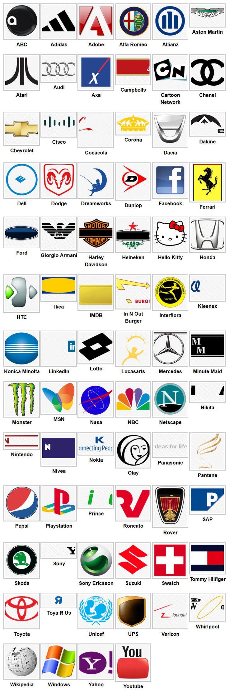 die besten 25 logo quiz 2 ideen auf pinterest logo quiz