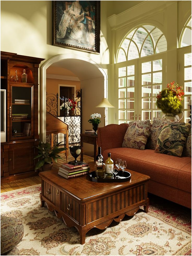 9 Middle Old Fashioned Living Rooms, Old Fashioned Living Rooms