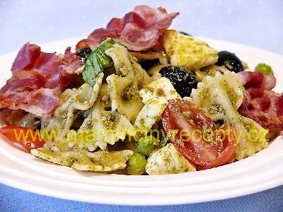 Těstovinový salát s pestem