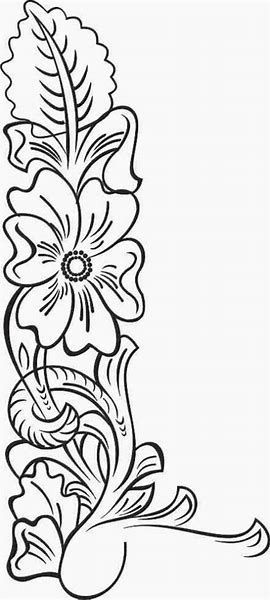 Image result for Leather Flower Patterns Printable Art Work