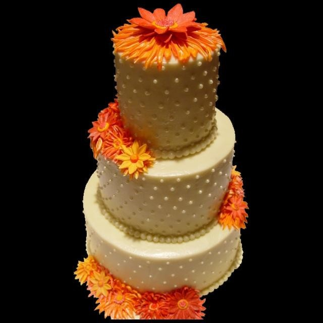 The 14 best images about orange floral cake ideas on Pinterest
