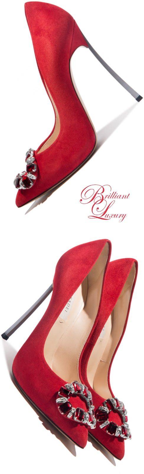 Brilliant Luxury * Casadei 'Blade' Fall 2015 for more findings pls visit www.pinterest.com/escherpescarves/