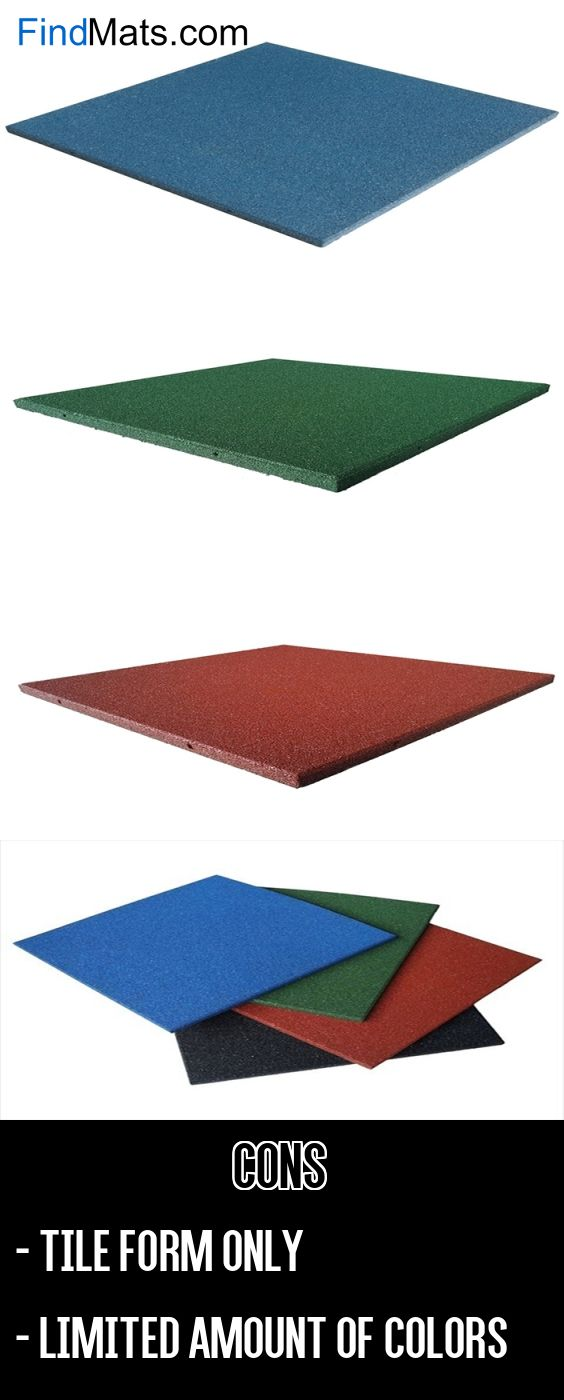 Rubber Cal Eco-Sport Interlocking Rubber Tiles From FindMats.com