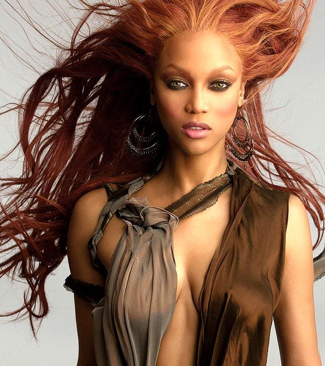 Tyra BanksFashion, Tom Shoes, Tops Models, Beautiful, New Hair Colors, Hair Looks, Tyra Banks, Tyrabanks, Role Models