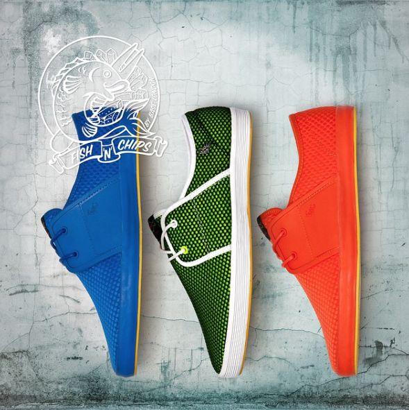 Fish n Chips . Colourful Shoes. Mens Plimsolls. Mens Fashion. @mxthree