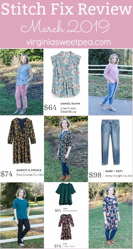 125d06b42261 Stitch Fix Review for March 2019 - Styles perfect for transitioning from  winter to spring