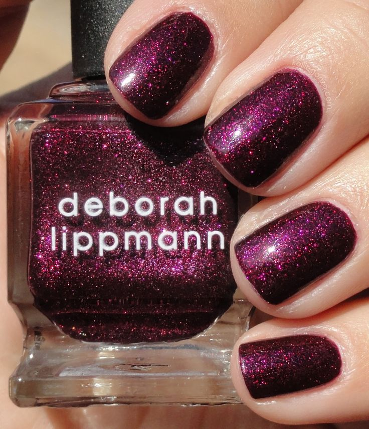 Deborah Lippmann. Good Girl Gone Bad. (y'all should check out this blogger's site. i get a lot of my ideas from her.)