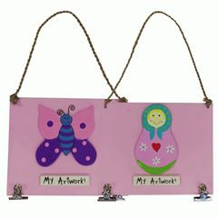 Art Boards! Another great idea from Goldfish Gifts which combines a fun aesthetic look with the practical need to pin up a child's latest artwork http://www.axistoys.com/Brands/Goldfish?product_id=1932