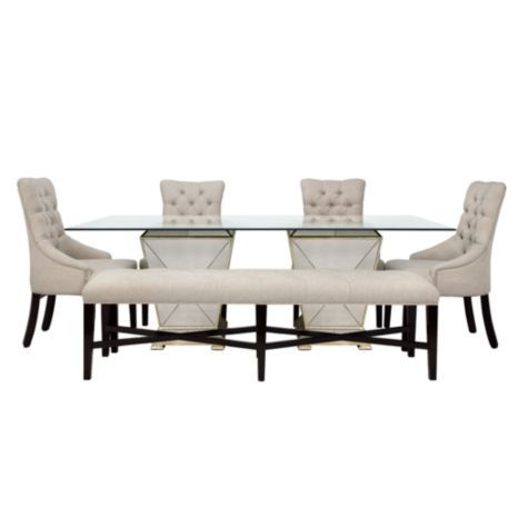 Borghese Rectangular Dining Table From Z Gallerie