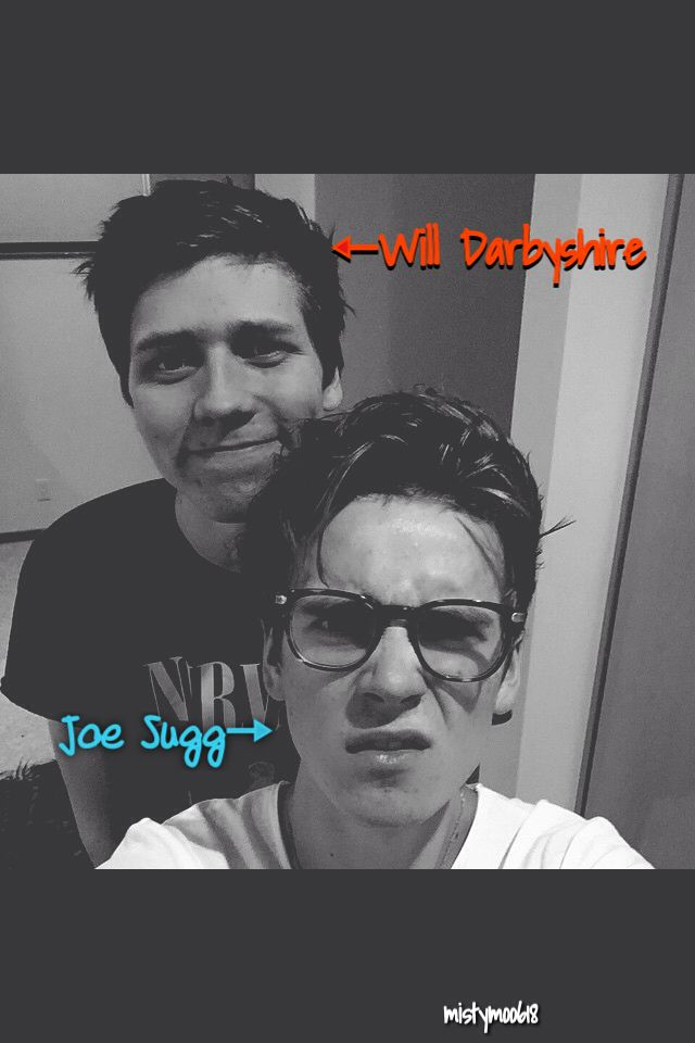 My two favorite youtubers on YouTube. They both are so creative and funny. I hope to meet them one day. :) Will Darbyshire & Joe Sugg❤️