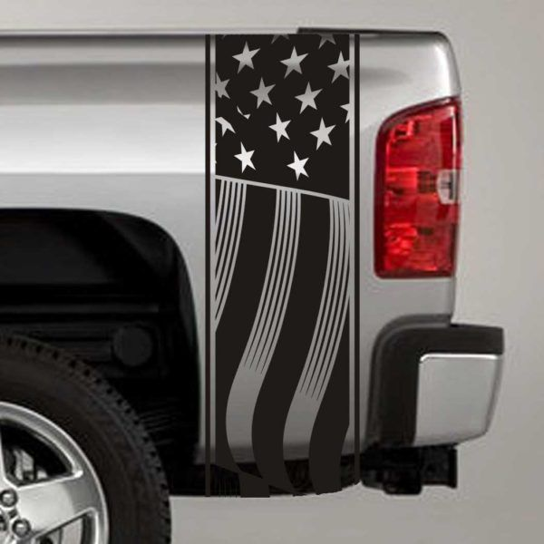 US Flag Truck Bed Stripe Decals Truck Bed Decals Pinterest - F250 decalsmulisha skullxwindow bed decal decals f f ram