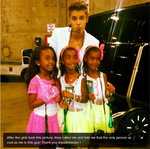 Justin and P. Diddy's kids
