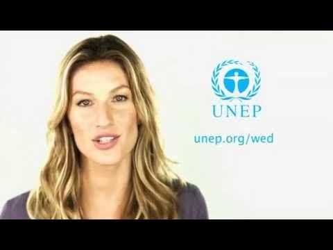 @UNEP Video - World Environment Day 2013 -Think Eat Save- Gisele Bündchen & Don Cheadle #foodwaste