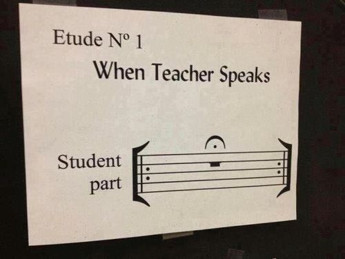 The best piece ever known to music teachers.