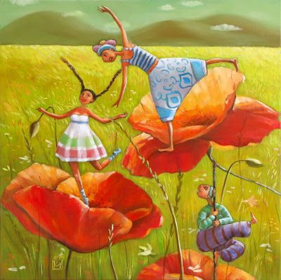Il mondo di Mary Antony: Le illustrazioni di Mariana Kalacheva