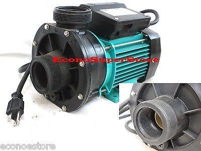 2200GPH 3/4HP ELECTRIC WATER PUMP RESERVOIR POOL POND TRANSFER DRAIN PUMPS 110V